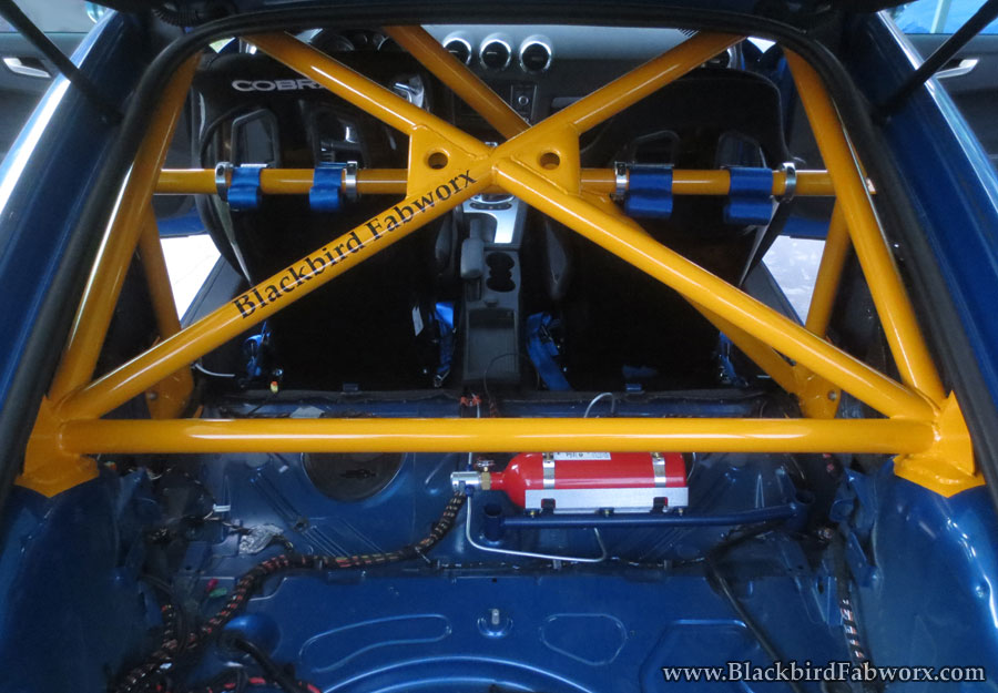 Roll Bar And Race Seats